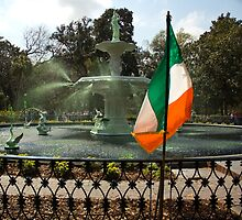 """The Greening Of The Fountain 2007 by Arthur """"Butch"""" Petty"""