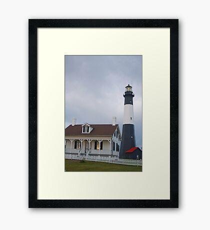 The Tybee Island Lighthouse Framed Print