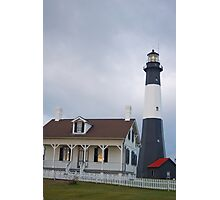 The Tybee Island Lighthouse Photographic Print