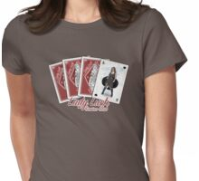 Lady Luck Casino Club Womens Fitted T-Shirt