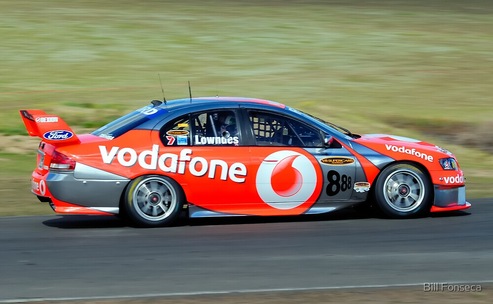 Craig Lowndes at Oran Park by Bill Fonseca
