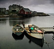 Peggy's Cove by Annette Blattman