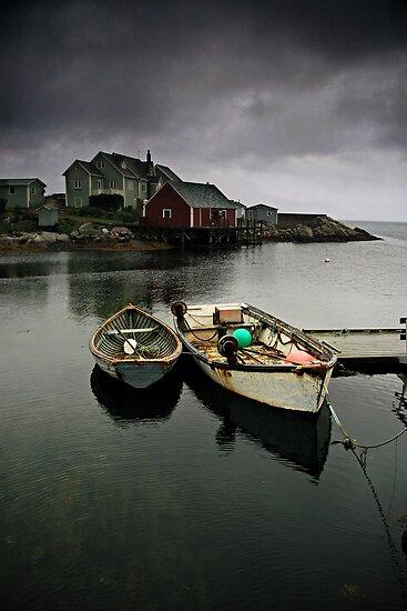 Peggy's Cove by Annette Blattman