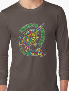 Narwhal Believes in You Long Sleeve T-Shirt