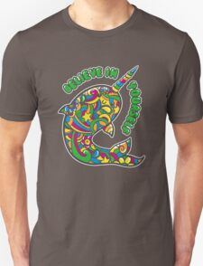 Narwhal Believes in You Unisex T-Shirt