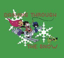Teen Titans Christmas Kids Tee