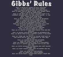 Gibbs' Rules - Grey Version Hoodie