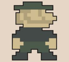 8-Bit Mario Call OF Duty Emblem by WhyTee1300