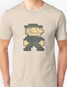 8 bit Mario Emblem T-Shirt