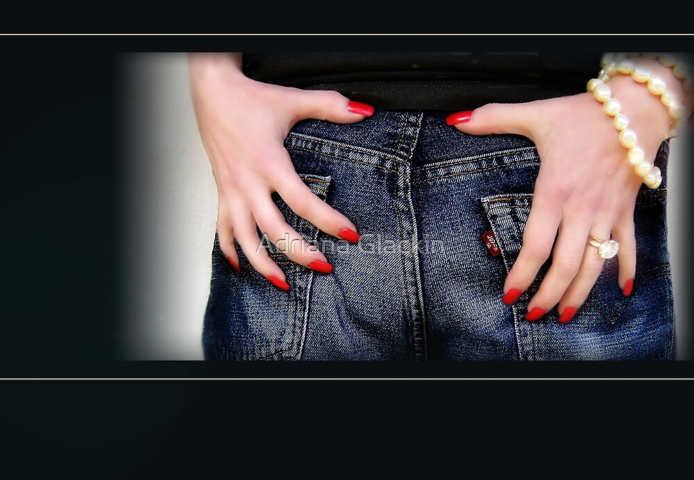 Red Nails by Adriana Glackin