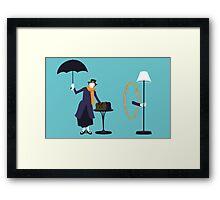 Poppins Portal Framed Print