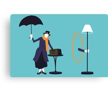 Poppins Portal Canvas Print