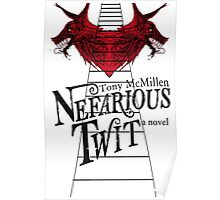 Nefarious Twit Two Wolves Art Poster