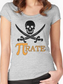 Pi-rate Women's Fitted Scoop T-Shirt