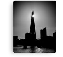 The Shard With The Morning Sun Canvas Print