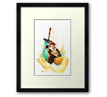 See You in the Country -Transistor Framed Print