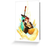 See You in the Country -Transistor Greeting Card