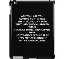 The Hanging Tree Song Mockingjay iPad Case/Skin