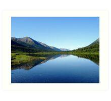 Alaska Waters Art Print