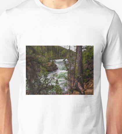 The Rushing Yellowstone Unisex T-Shirt