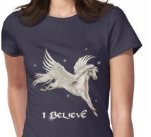Flying Pegasus Womens Fitted T-Shirt