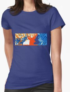 The deer in the forest Womens Fitted T-Shirt