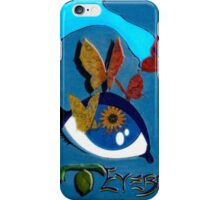 "I, Butterfl""eye"" (Left) iPhone Case/Skin"