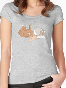 Coffy Rabbit Women's Fitted Scoop T-Shirt