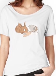 Coffy Rabbit Women's Relaxed Fit T-Shirt