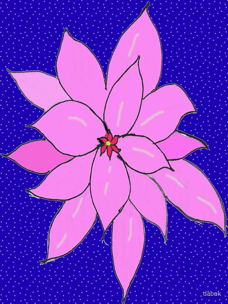 Dabak imaginary flower by dabak
