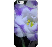 Lit flower. iPhone Case/Skin