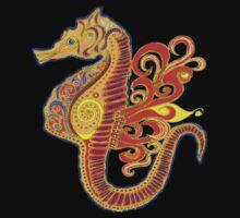 Seahorse Paradise One Piece - Short Sleeve
