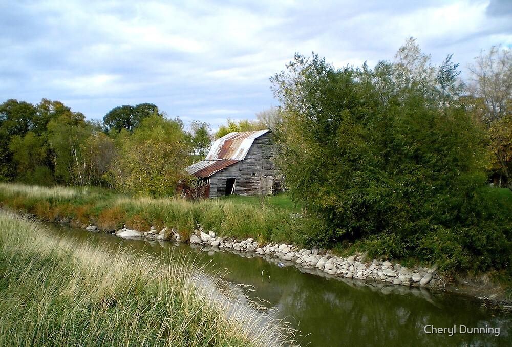 hidden barn by Cheryl Dunning