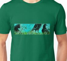 The cat among the Pigeons  Unisex T-Shirt