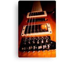 Gig Guitar Canvas Print