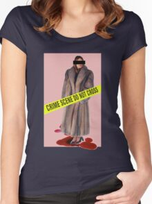 Crime Scene Women's Fitted Scoop T-Shirt
