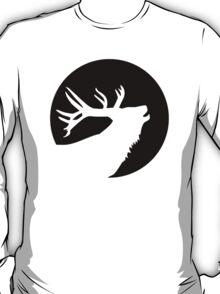 Deer moon night T-Shirt