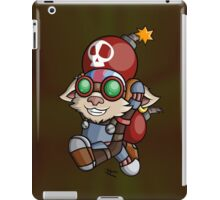 Going In With A Bang! iPad Case/Skin