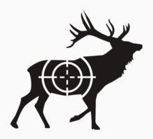 Deer crosshairs hunter by Designzz