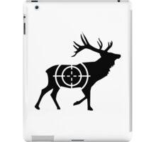 Deer crosshairs hunter iPad Case/Skin