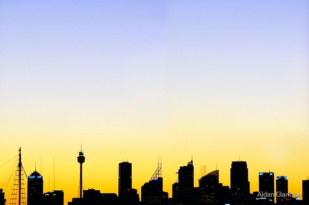 Sydney Skyline by Aidan Clarkson