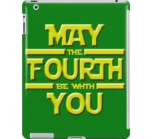 May the Fourth iPad Case/Skin