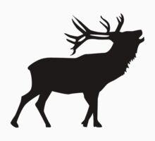 Roaring deer by Designzz