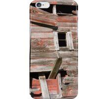 Barn windows iPhone Case/Skin
