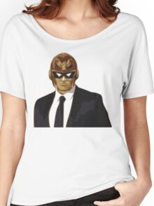 Captain Falcon in Formal Attire Women's Relaxed Fit T-Shirt
