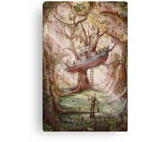 Fisherman of the Forest Canvas Print
