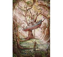 Fisherman of the Forest Photographic Print