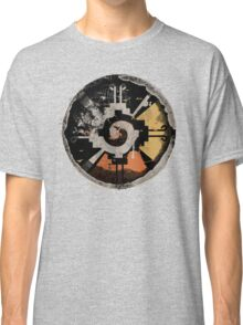Good Vibes! Birds Flying in Abstract Sunset!!! Classic T-Shirt