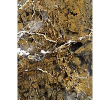 There is beauty in Anchant Rocks . Photographic Print