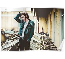 Hozier in Rubble Poster